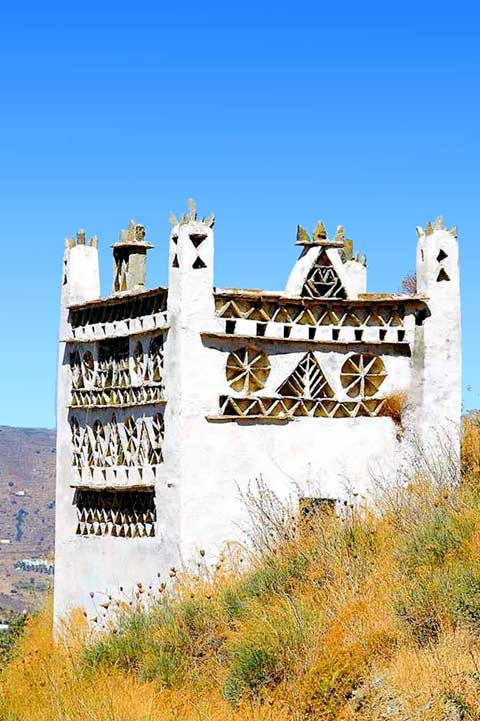 Travel to Tinos Photo Gallery  -  One of the famous dovecots of TinosDOVECOT