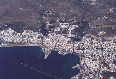 TINOS PHOTO GALLERY - TINOS FROM THE AIR