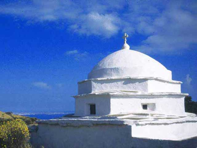 The church of Agios Nikolaos in Tinos TINOS PHOTO GALLERY - Agios Nikolaos